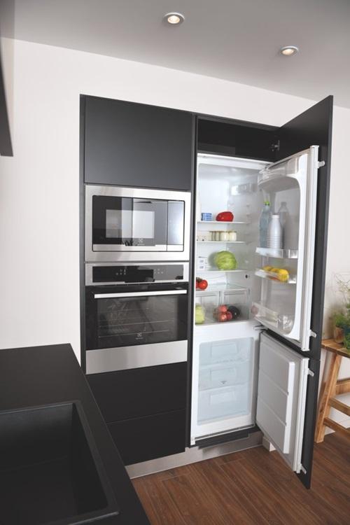 Gorges ombre armoire réfrigérateur
