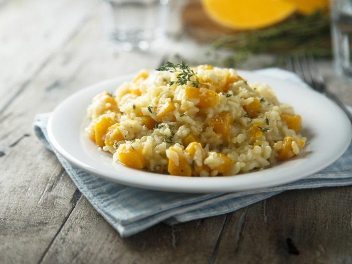 recette risotto au potiron