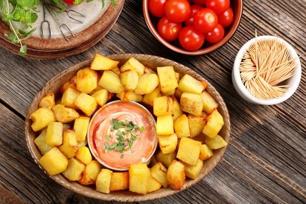 Recette pomme de terre patatas bravas
