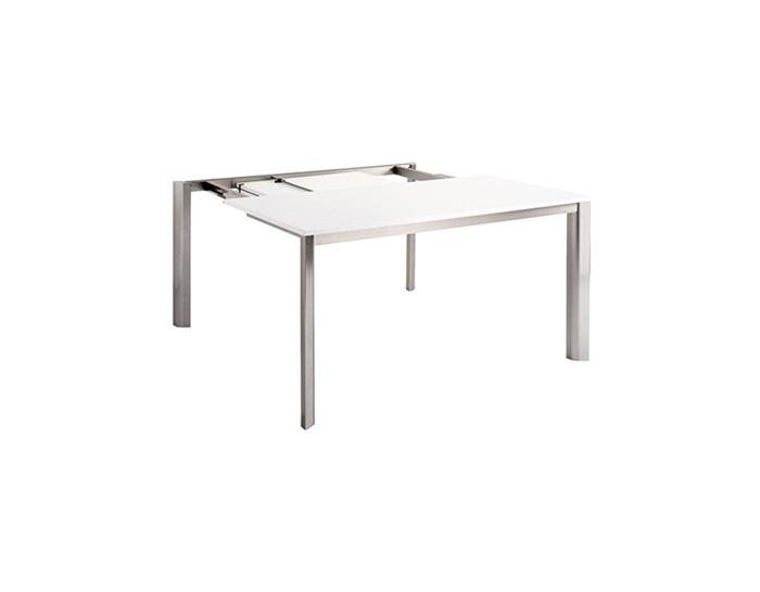 Table carrée à rallonge