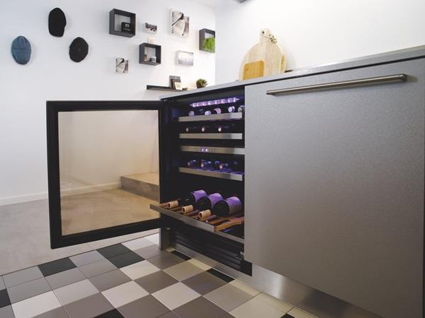Cave à vin intégrable cuisine